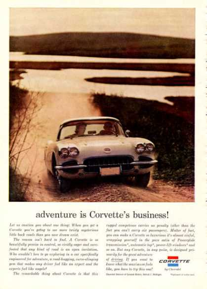 Chevy Corvette Coupe Sports (1960)