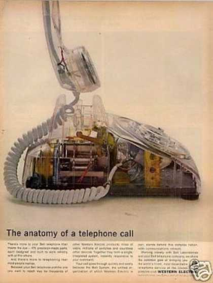 Western Electric Ad &quot;The Anatomy Of... (1964)