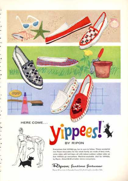 Yippees By Ripon Fashion Shoes (1960)