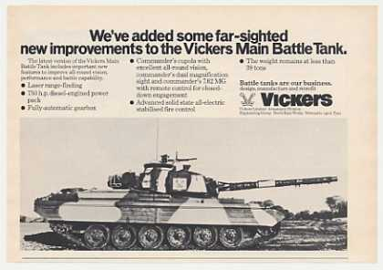 Vickers Main Battle Tank Photo (1976)
