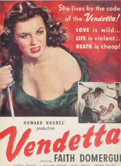Vendetta (Howard Hughes) (1951)