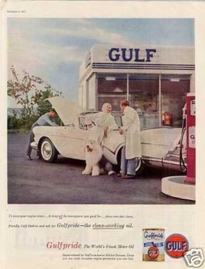 Gulf Ad Gas/service Station (1957)