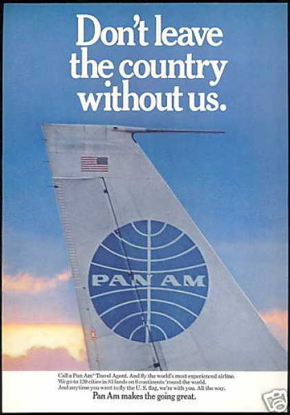 Pan Am Airlines Makes The Going Great (1968)