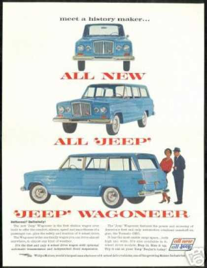 New Jeep Wagoneer 3 Photo Vintage (1963)