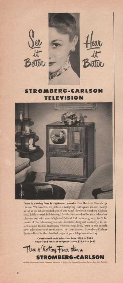 Stromberg Carlson Television (1949)