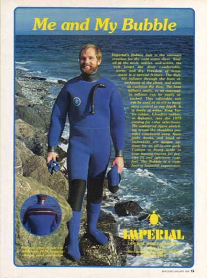 Imperial Bubble Scuba Diver Suit (1979)