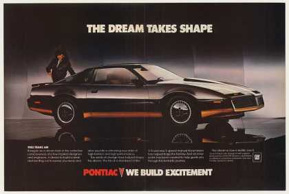 Pontiac Trans Am Dream Takes Shape (1983)