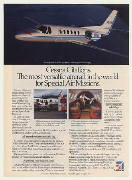 Cessna Citation Special Air Mission Jet (1986)