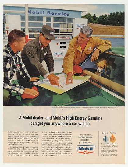 Craig Tufts Manchester NH Mobil Gasoline Dealer (1964)