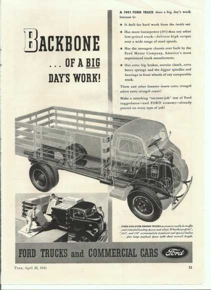 Backbone Ford Trucks & Commercial Cars (1941)