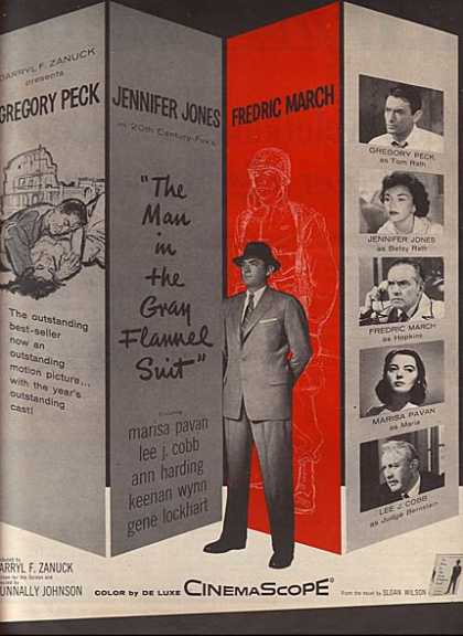 The Man in the Gray Flannel Suit (Darryl F. Zanuck) (1956)
