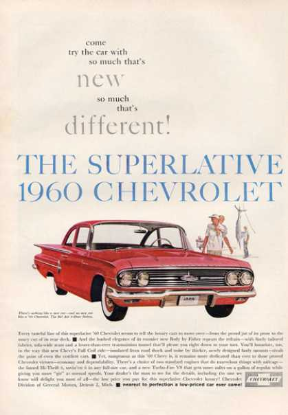 Chevrolet Chevy Bel Air Sedan (1960)