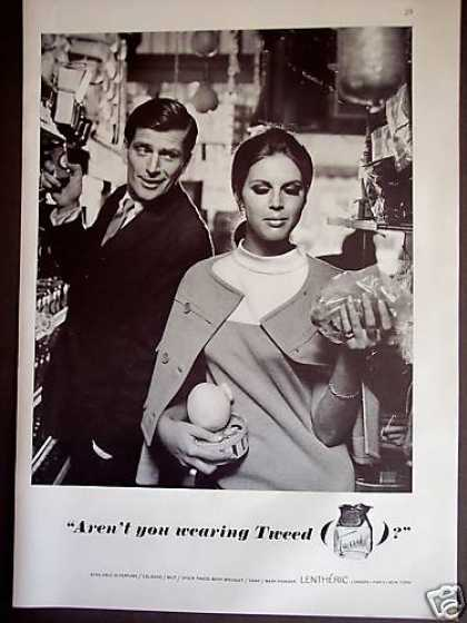 Lentheric Tweed Perfume Cologne Photo (1967)