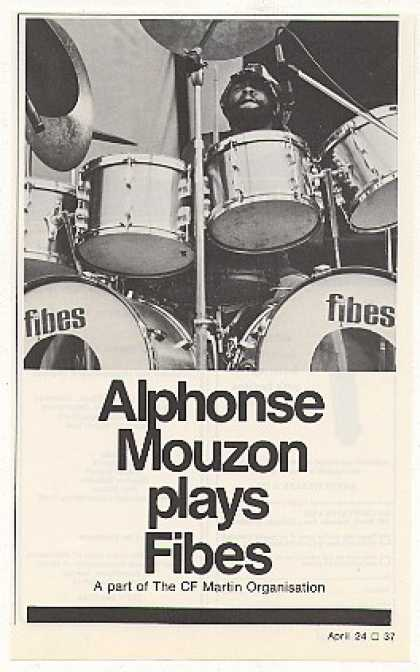 Alphonse Mouzon Fibes Drums Photo (1975)