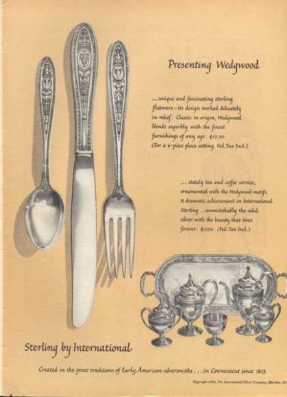 Wedgewood Sterling Silverware Coffee Set (1952)