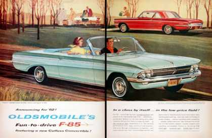 Oldsmobile F85 Cutlass Convertible (1962)