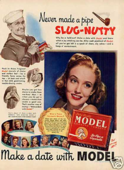 Model Smoking Tobacco (1942)