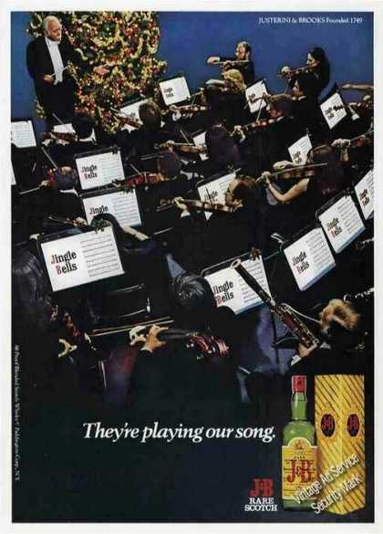 "J&b Scotch ""They're Playing Our Song"" (1979)"