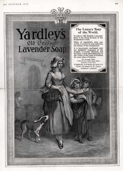 Yardley & Co., Ltd.'s Yardley's Old English Lavender Soap – Yardley's Old English Lavender Soap (1925)