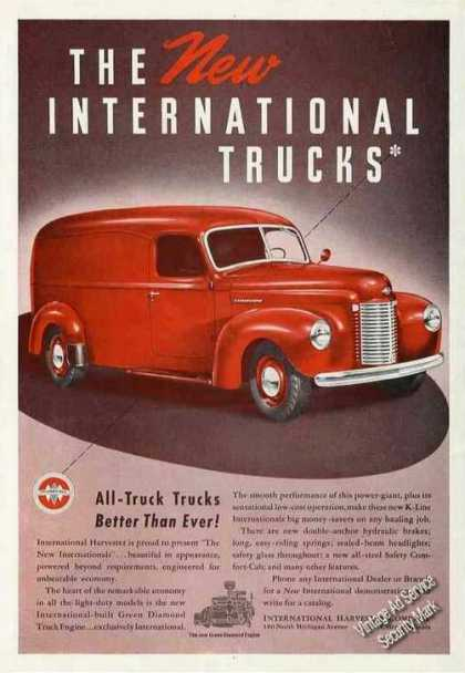The New International Trucks Panel Truck (1941)