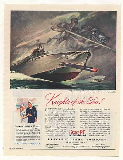 Electric Boat Navy Elco PT Knight of the Sea (1943)