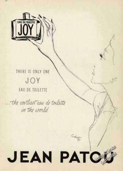 Joy Eau De Toilette Art Costliest In the World (1955)