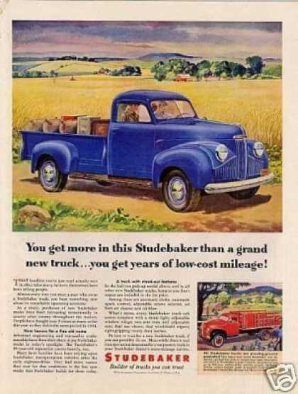 Studebaker Pick-up Truck (1947)