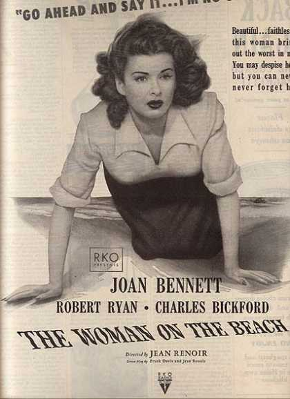 The Woman On The Beach (Joan Bennett, Robert Ryan) (1947)