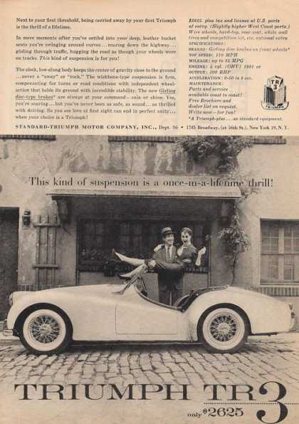 Truimph Tr2 Sports Car (1957)