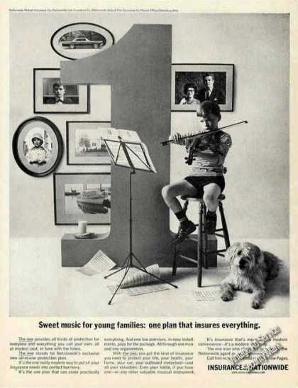 "Insurance By Nationwide Ad ""Insures Everything"" (1963)"