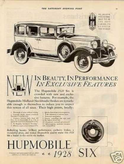 Hupmobile Six Car (1928)