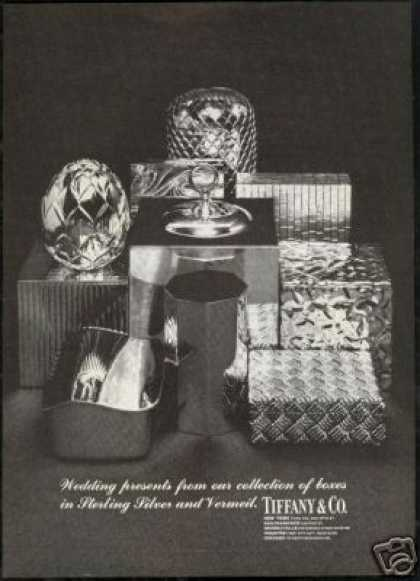 Tiffany Co Sterling Silver Vermeil Boxes (1968)