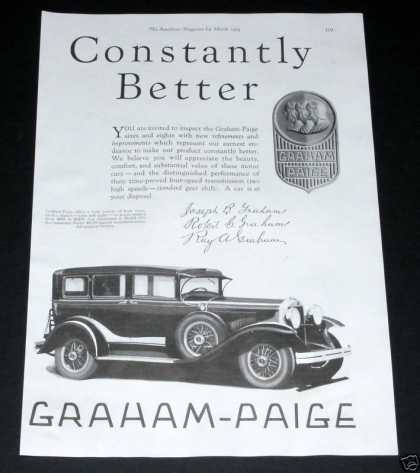Graham Paige Automobile (1929)
