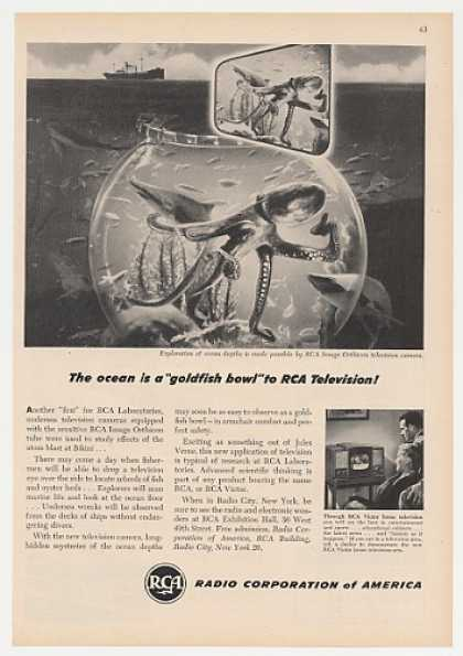 RCA Image Orthicon TV Camera Ocean Exploration (1947)