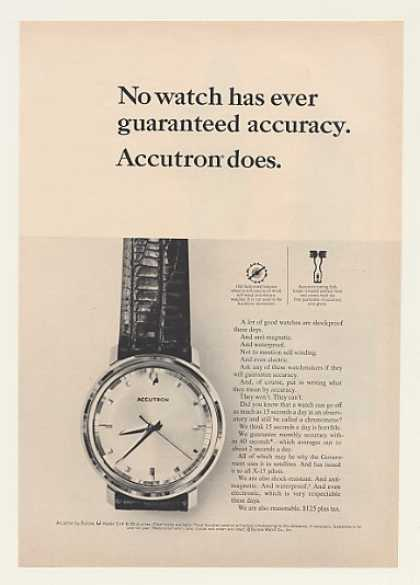 Bulova Accutron 214 Watch Guaranteed Accuracy (1964)