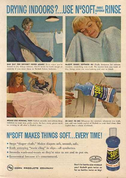 Nu Soft's Fabric Softener (1959)