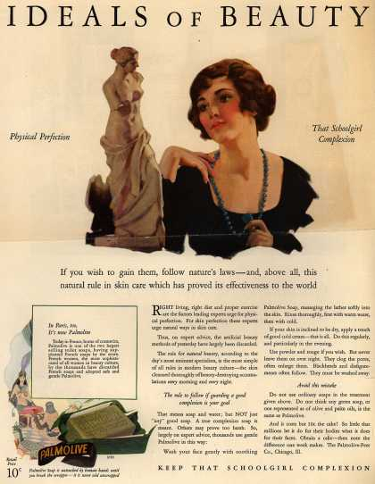 Palmolive Company's Palmolive Soap – IDEALS OF BEAUTY (1927)