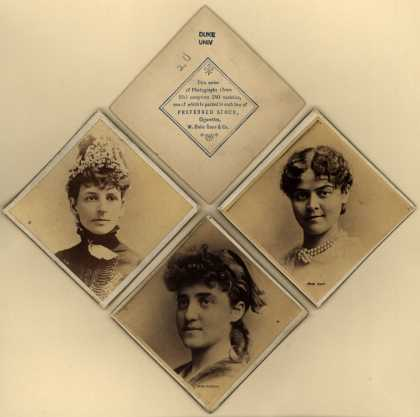 W. Duke Sons & Co.'s Preferred Stock – Actresses – Image 1
