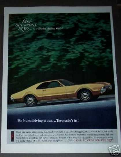 Oldsmobile Toronado Yellow Car Photo (1966)