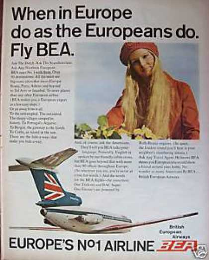 Bea British European Airways (1970)