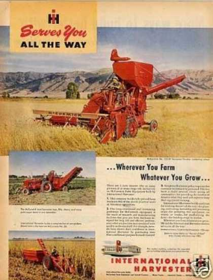 International Mccormick Harvester Ad No. 125-sp (1949)