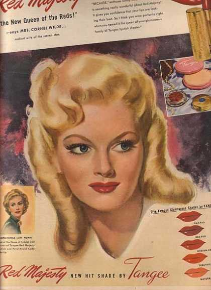 Tangee's Red Majesty Lipstick (1947)