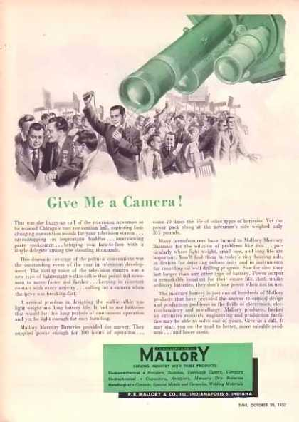 Mallory & Company – Political Convention Coverage (1952)
