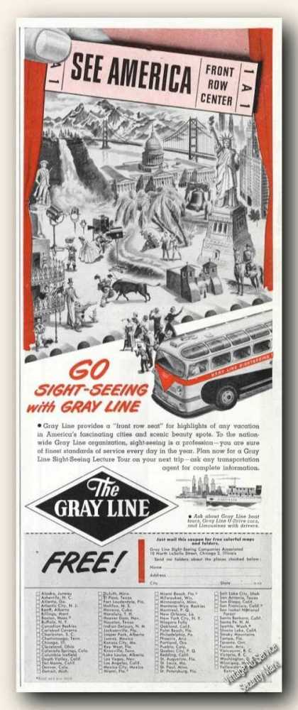 Gray Line Sight-seeing Travel (1949)