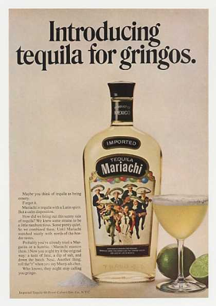 Mariachi Tequila for Gringos Bottle Photo (1968)