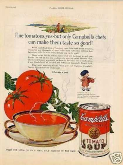 Campbell's Tomato Soup (1926)