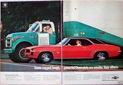 Chevrolet Camaro Series 60 Truck Powerful Rugged (1969)