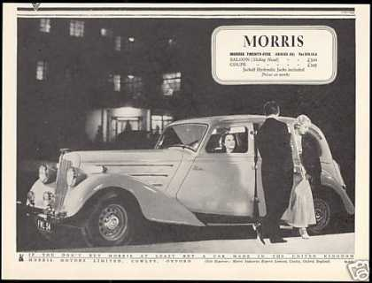 Morris Motors Twenty Five Series III Car UK (1938)