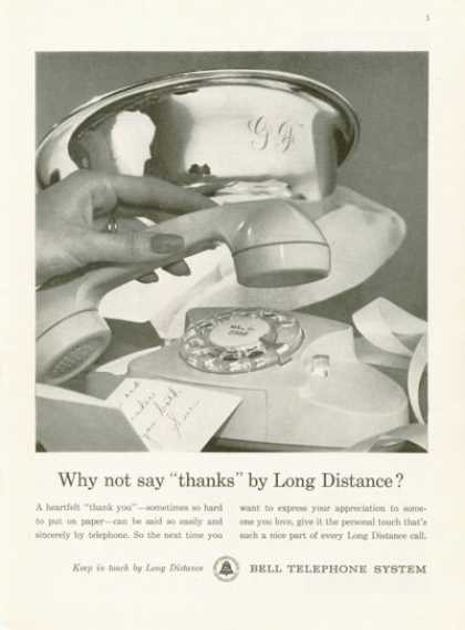 Bell Telephone System Rotary Phone (1961)