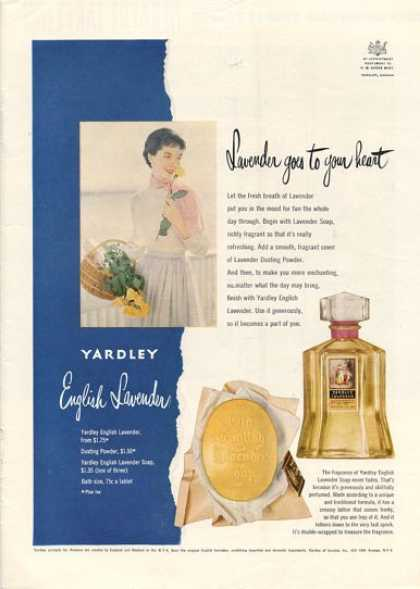 English Lavender Yardley Bottle (1950)
